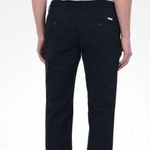 Armani Exchange Navy Chino Pants Size 38S NWT